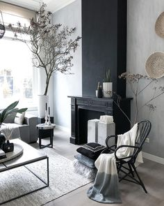 58 Trendy kitchen backsplash grey and white floors Interior, Grey Interior Design, Living Room Flooring, Home Decor Trends, Trendy Living Rooms, House Interior, Trending Decor, Scandinavian Interior, Living Room Designs