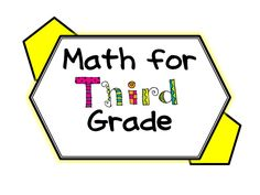 Math resources, blogs and ideas for Third Grade math. Enjoy this collaborative board!