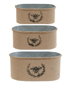 Bee French buckets