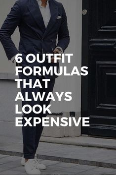 6 OUTFIT FORMULAS THAT ALWAYS LOOK EXPENSIVE #mensfashion #fashion #style