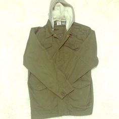 Fred Segal military jacket XL Mens Fred Segal basically brand new military jacket size XL. This jacket is amazing. Got too big on hubby Fred Segal Jackets & Coats Utility Jackets
