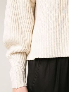The Row Chunky Ribbed Sweater - Apropos The Concept Store - http://Farfetch.com