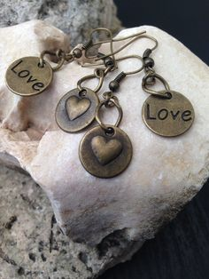 $10 Valentine's Day Love & Heart Earrings Under by ArcanumByAerrowae