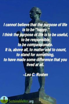 Purpose of Life is...