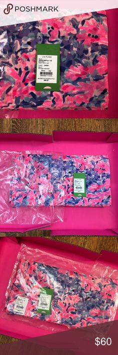 NWT Lilly Pulitzer Multi Coco Coral Crab Scarf NWT adorable infinity scarf Lilly Pulitzer Accessories Scarves & Wraps