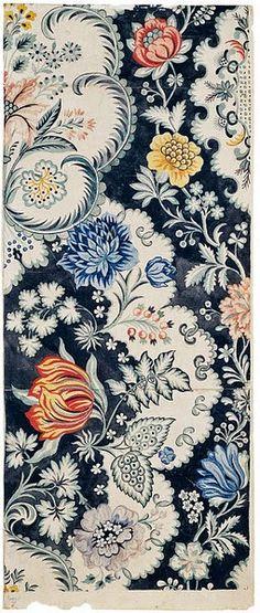 Design for a woven silk by Anna Maria Garthwaite, Spitalfields, 1730 - 1740. Victoria & Albert Mus eum