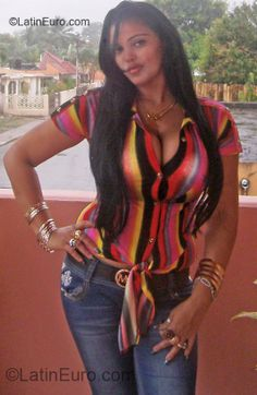 Date this attractive Dominican Republic girl Rose from Santiago DO11011
