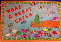 so cute! This has some really cute ideas for bulletin boards!