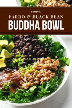 Farro and Black Bean Buddha Bowl