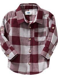 Buffalo-Plaid Shirts for Baby