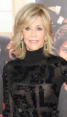Looking for Jane Fonda Hairstyles? Medium Thin Hair, Short Thin Hair, Short Hair With Layers, Layered Hair, Short Blonde, Thin Hair Styles For Women, Hair Styles 2014, Medium Hair Styles, Short Hair Styles