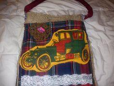 bolso coche vintage by lollypopbolsos on Etsy, €20.00