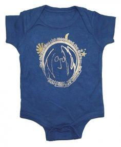 Kiditude - John Lennon Baby Bodysuit $18.95 Read more: http://www.kiditude.com/catalog/rock-baby-clothes/john-lennon-baby-bodysuit-790.html