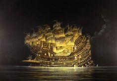 Spanish Galleons | Replica of 18th-Century Spanish Galleon Warship :: Figures