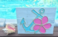 Hey, I found this really awesome Etsy listing at https://www.etsy.com/listing/216078014/handmade-anchor-and-flower-with-rope