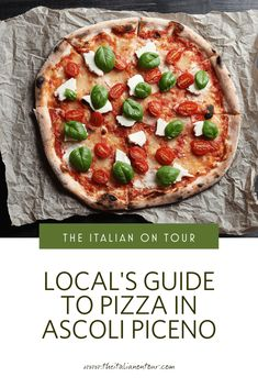 There's nothing quite like digging into your first slice of pizza in Italy. Whether you love a traditional Neapolitan pizza, you're wanting to go gourmet, or can't stomach the gluten, Ascoli's pizzerias offer something for everyone's taste buds and dietary needs. Eat Pizza, Good Pizza, Travel Advice, Travel Guides, Italy Travel Tips, Travel Europe, Group Travel, Food Industry, Culture Travel