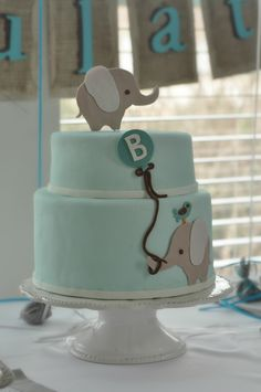 @Cassie G Bishop Elephant Cake Idea
