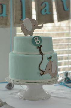 @Cassie G Bishop Elephant Cake Idea