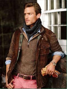 ��Masculine and elegance man\u0026#39;s fashion winter wear Polo Ralf Lauren F/W 2013 \u2013