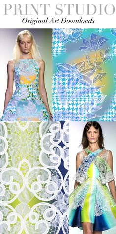 TREND COUNCIL SPRING/SUMMER 2014- PRINT STUDIO