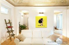 Mafalda decoración