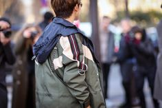 What the Best Dressed Guys in Paris Wore to Fashion Week