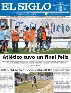 Diario El Siglo - Lunes 1 de Octubre de 20 12