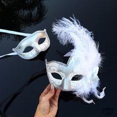 Máscara de la mascarada de parejas su y suyo mascarada