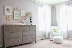 Strawberry Swing and other things: [Little Room #2] Kenley Drew's Nursery Tour