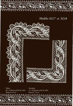 Pochette n 17 - Lada 8 - Picasa Web Album Bobbin Lacemaking, Bobbin Lace Patterns, Needle Lace, Lace Making, Simple Art, String Art, Crochet, Needlepoint, Tatting