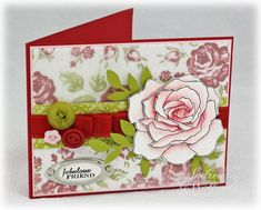 Andrea Walford is a card making fiend!