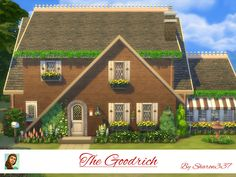 The Goodrich is a home built on a 30 x 20 lot in Windenburg. It has 3 bedrooms, 2 Bathrooms, Living Room, Dining Room, Kitchen and a Sun Room. Outside there is a BBQ , Table and Chairs, a Swimming...