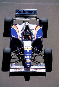 1996 Damon Hill, Williams FW18 Renault