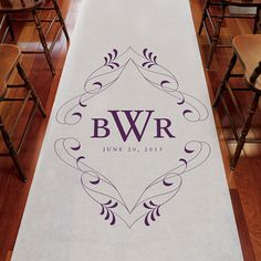 These Flourish Monogram Personalized Aisle Runners are made of 33 gram non-woven fabric. Each runner includes an attached cord handle and double-sided adhesive tape to secure it in place along the leading edge. Add instant romance with a sprinkle of rose petals in colors that complement your Day! Available for purchase online at http://madelinesweddings.weddingstar.com/product/flourish-monogram-persona