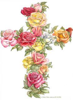 Rose Cross by Parker Fulton