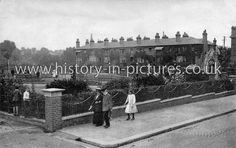Prittlewell Square, East Side, Southend-on-Sea. Essex. c.1916