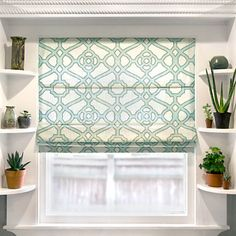 Getting custom Roman shades made is expensive, so why not make them yourself? This tutorial includes a video, written directions, and photos. Blind Hem Stitch, Custom Roman Shades, Stitch Witchery, Shabby, Drapery Fabric, Burlap Curtains, Home Decor Fabric, Window Treatments, Window Coverings