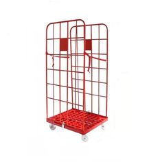[Metal Cage]Galvanized Foldable Metal Warehouse Roll Cage, Production Capacity:5, 000 Ton/Month, Usage:Tool Rack, Beverage, Clothing, Tools, Supermarket, Food, Industrial, Warehouse Rack,Material: Steel,Structure: Rack,Type: Roll Container,Mobility: Mobile,Height: 0-5m,, Roller Cage, Foldable Roller Cage, Warehouse Roller Cage, Weight: More Than 1,000kg, Closed: Open, Development: New Type, Serviceability: Common Use, Surface Treatment: Powder Coated, Color: Blue and Orange, Certificate: Ce, SG Tool Rack, Mobile Storage, Roll Cage, Steel Structure, Powder Coating, Warehouse, Color Blue, Rolls, Storage Racks