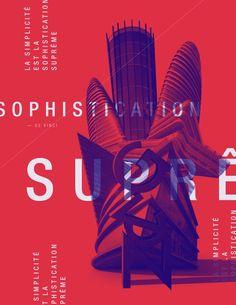 modern poster design 10 inspirational graphic design trends for 2018 - Layout Design, Futuristisches Design, Logo Design, Brochure Design, Print Design, Design Typography, Design Trends 2018, Graphic Design Trends, Graphic Design Posters