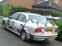 :)   Bad worst funny or ugly ricer car mod body kit rod fail