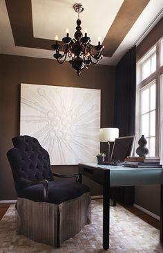Home Office Decor | Preston Lee Design.