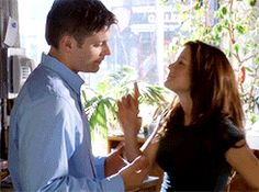 Jensen and Danneel in Ten Inch Hero. I'm just sitting here like YOU GUYS WERE FRIENDS BUT NOW YOURE IN LOVE BECAUSE OF THIS MOVIE LIKE WOW GOD BLESS AMERICA