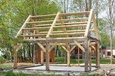 timber frame blueprints - Google-haku