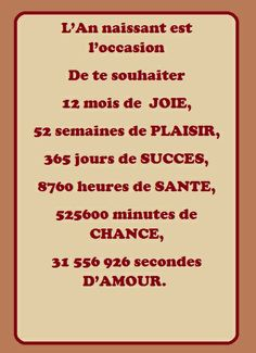 Bonne annee, mois, jours, heures, minutes, secondes  #quotes #inspiration #pixword