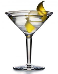Vesper Martini. James Bond's drink of choice