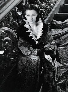 """Vivien Leigh en """"Lo que el viento se llevó"""" (Gone with the wind), 1939"""