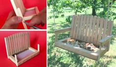 We Love These Popsicle Stick Bird Feeders | The WHOot