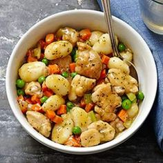 Chicken & Gnocchi Dumplings