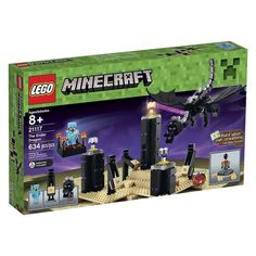 What is the perfect set of Lego Bricks for kids who have beaten Minecraft? This is the LEGO Minecraft The Ender Dragon set. A full review here!