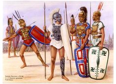 Samnite warriors c. 293 BC.